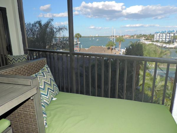 Relax in the Screened Balcony